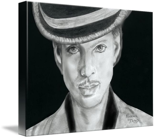 Pencil drawing of Celebrity Prince Face