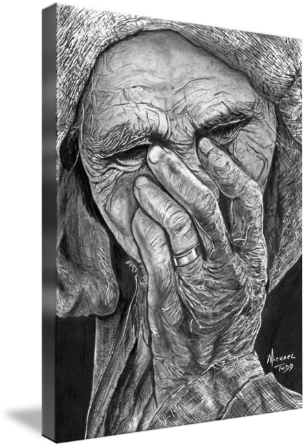 Pencil drawing by Michael Todd